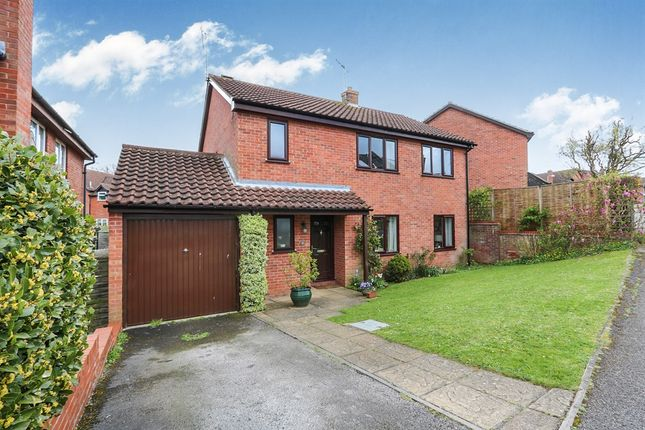 Thumbnail Detached house for sale in Castle Brooks, Framlingham, Woodbridge