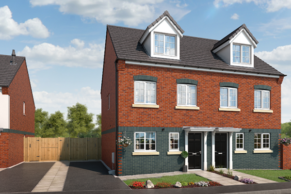 "Thumbnail Property for sale in ""The Willow At Lyme Gardens, Stoke-On-Trent"" at Wellington Road, Hanley, Stoke-On-Trent"