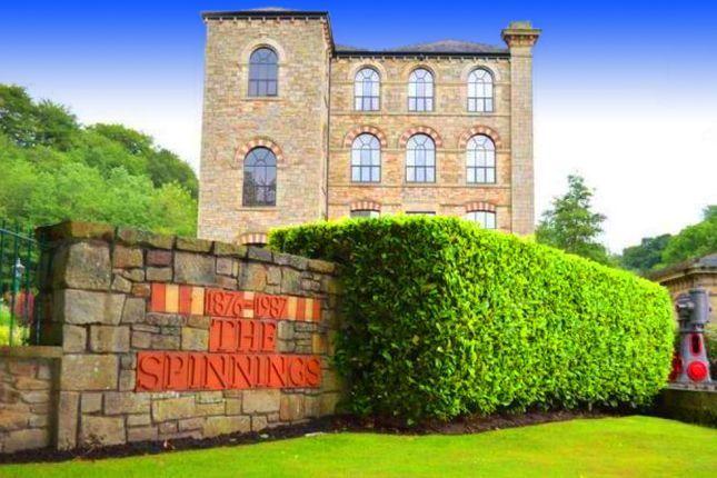 Thumbnail Flat for sale in The Spinnings, Waterside Road, Summerseat, Bury