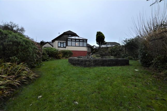 Thumbnail Detached bungalow for sale in Pentalek Road, Camborne, Cornwall