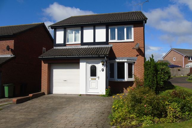 Thumbnail Detached house for sale in Alcester Close, Stakeford, Choppington