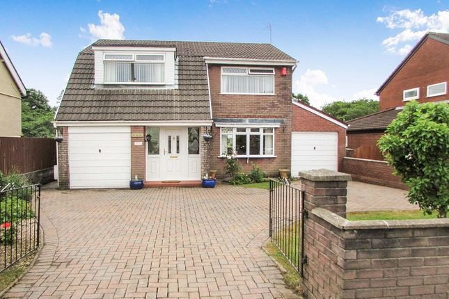Thumbnail Detached house for sale in The Willows, Brynna Road, Pencoed, Bridgend .