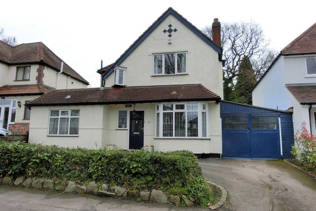 Thumbnail Link-detached house for sale in Tixall Road, Hall Green, Birmingham