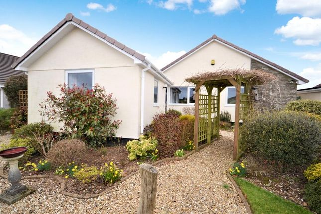 Thumbnail Detached bungalow for sale in Park Road, St. Dominick, Saltash, Cornwall