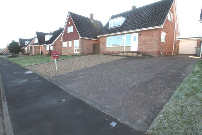 Thumbnail Bungalow to rent in High Meadow, Grantham