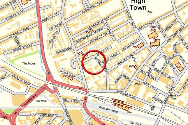 Map 2 of Dudley Street, Luton LU2