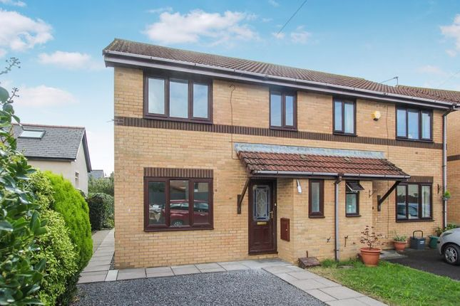 Thumbnail Terraced house for sale in Warlow Close, St. Athan, Barry