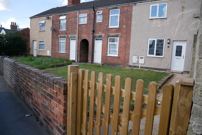 Thumbnail End terrace house to rent in South Street North, New Whittington, Chesterfield