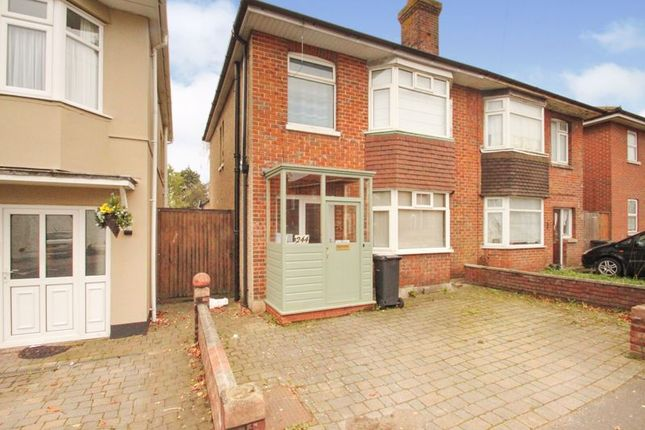 Thumbnail Semi-detached house to rent in Columbia Road, Bournemouth