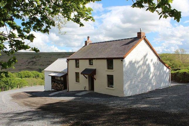Thumbnail 3 bed farmhouse for sale in Ller Fedwen, Felindre, Swansea.