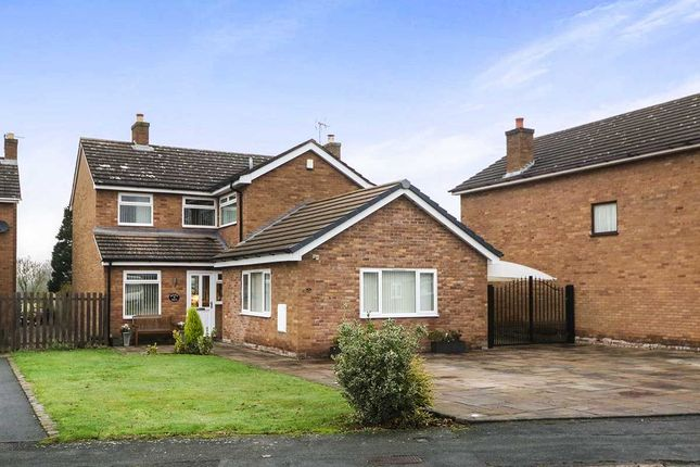 Thumbnail Detached house for sale in Rookery Drive, Tattenhall, Chester
