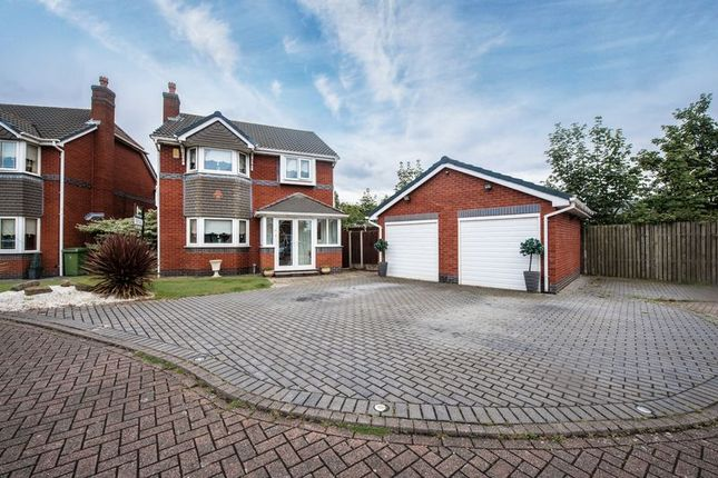 Thumbnail Detached house for sale in Kilmore Close, Aintree, Liverpool