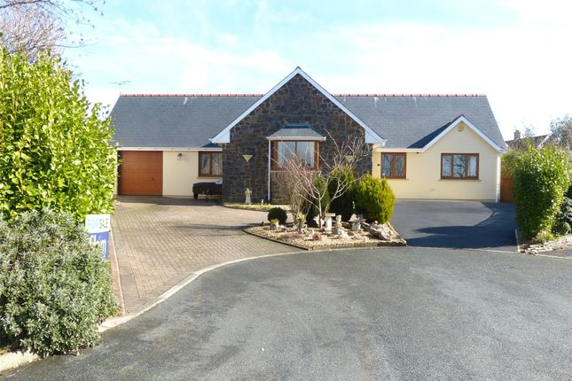 Thumbnail Detached bungalow for sale in Egypt Meadow, Ludchurch, Narberth