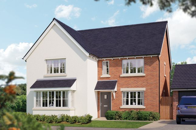 "Thumbnail Detached house for sale in ""The Arundel"" at Crewe Road, Haslington, Crewe"