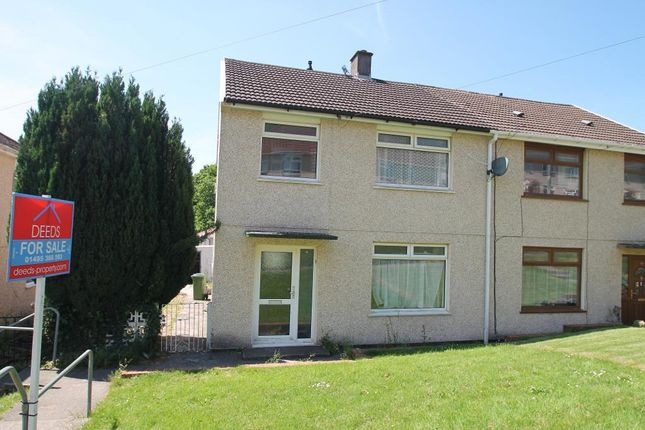 Thumbnail Semi-detached house for sale in Bryngolwg, Cwmbach, Aberdare