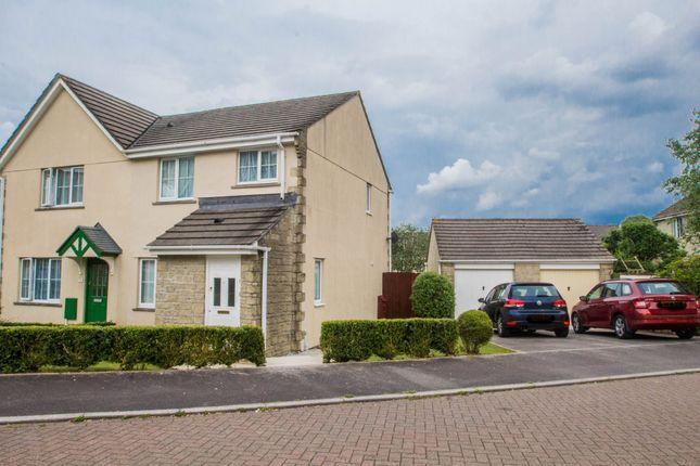 Thumbnail Semi-detached house for sale in Mitre Close, Tavistock