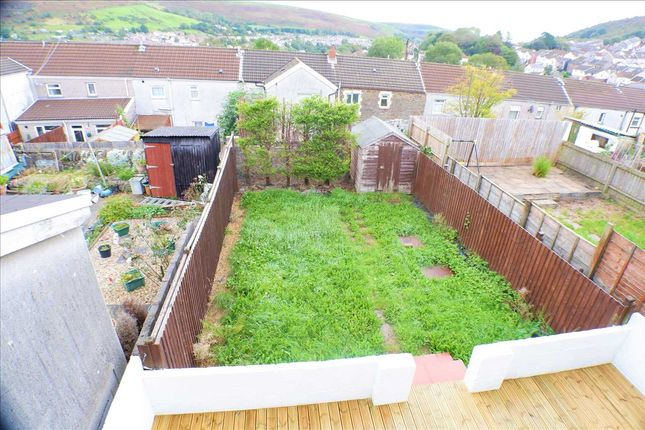 Garden of Railway Terrace, Penygraig, Tonypandy CF40