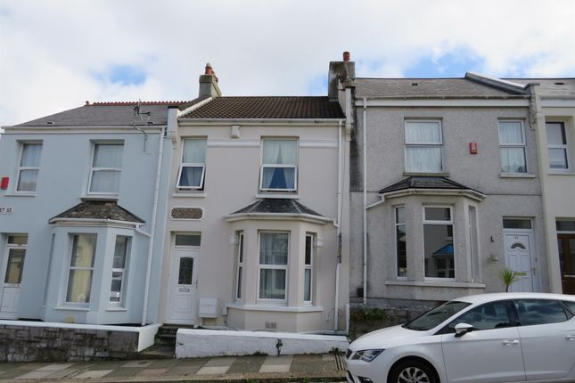 Thumbnail Terraced house for sale in Fleet Street, Keyham, Plymouth