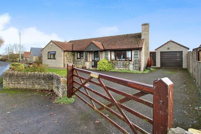 Thumbnail Detached bungalow for sale in Mill Road, Barton St. David, Somerton