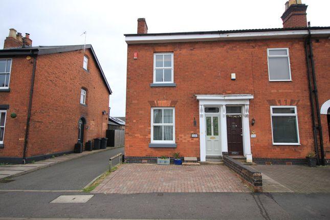 End terrace house in  York Street  Harborne  Birmingham  Birmingham