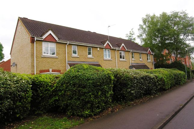 Thumbnail End terrace house for sale in Florence Way, Knaphill, Woking
