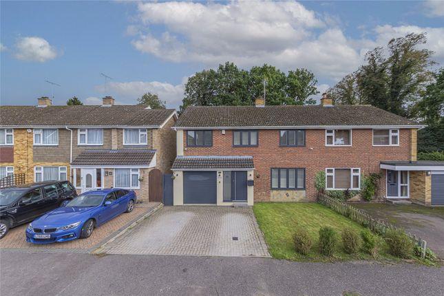 Thumbnail Semi-detached house for sale in Saberton Close, Redbourn, St. Albans, Hertfordshire