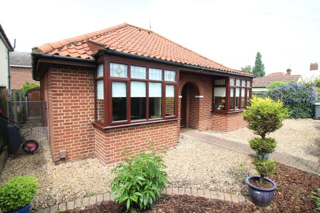 Thumbnail Detached bungalow for sale in Boundary Road, Norwich