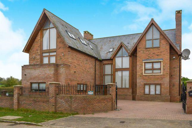 Thumbnail Detached house for sale in Queensbury Lane, Monkston Park, Milton Keynes