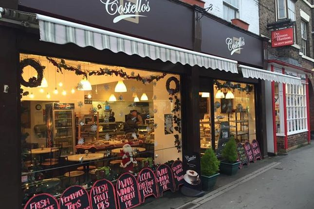 Thumbnail Restaurant/cafe for sale in Market Place, Driffield