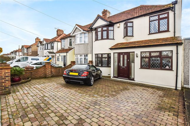 Thumbnail Semi-detached house for sale in Normanhurst Avenue, Bexleyheath, Kent