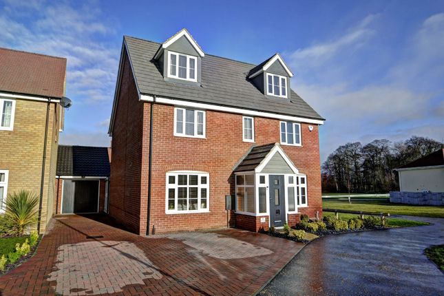 Thumbnail Detached house for sale in Sprowston, Norwich, Norfolk