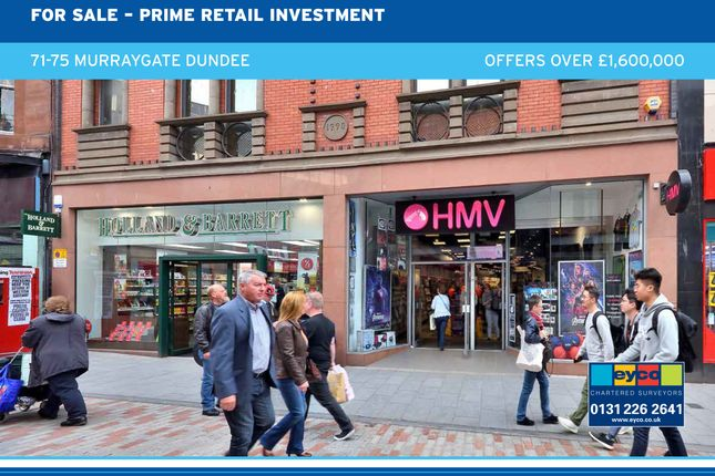 Thumbnail Commercial property for sale in Murraygate, Dundee