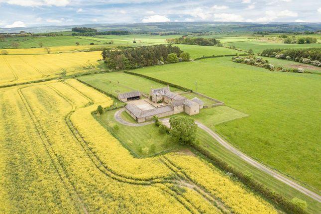 Thumbnail Farmhouse for sale in Newton Fell Farmhouse, Newton, Stocksfield, Northumberland