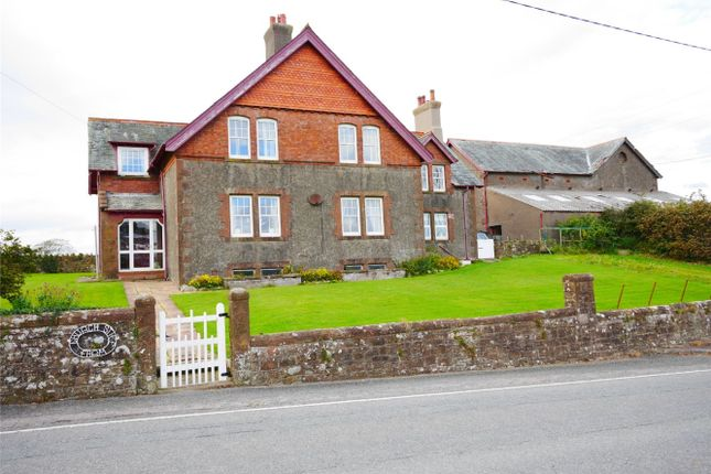 Thumbnail Detached house for sale in Church Stile Farm, Drigg, Holmrook, Cumbria
