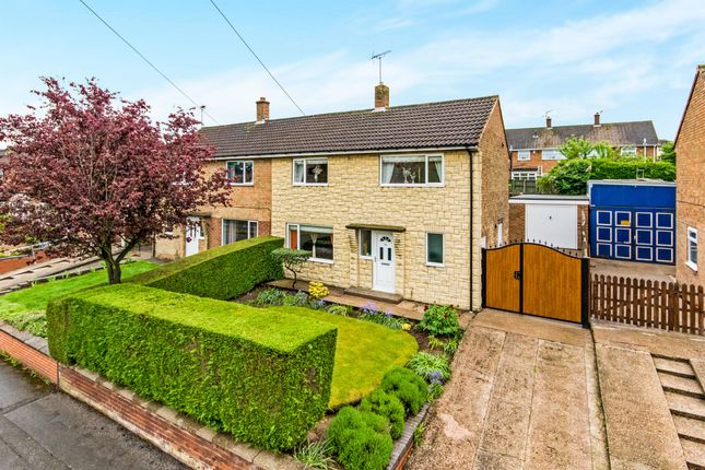 Thumbnail Semi-detached house for sale in Rugby Road, Rainworth, Mansfield