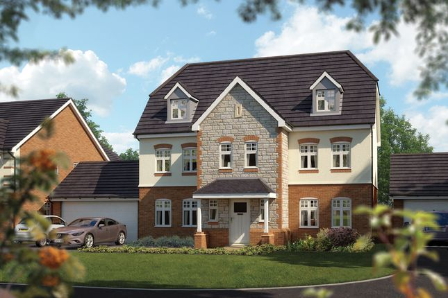 "Thumbnail Detached house for sale in ""The Kingsbury"" at Devon, Bovey Tracey"