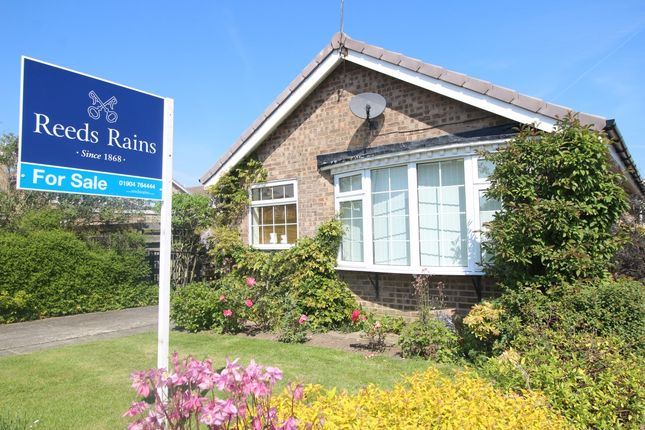 Thumbnail Bungalow for sale in Cornwood Way, Haxby, York