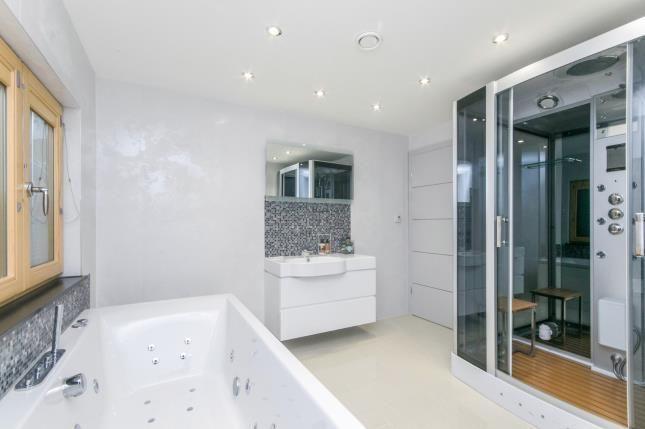 Bathroom of Carmel, Llanrwst, Conwy, North Wales LL26