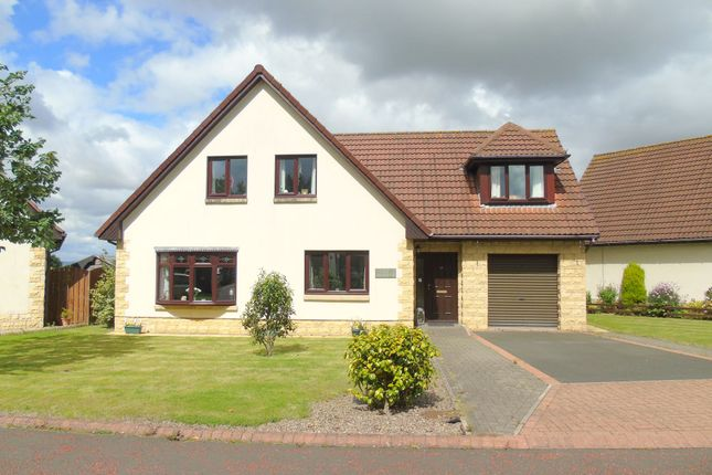Thumbnail Detached house for sale in Grangewood, Stobswood, Morpeth