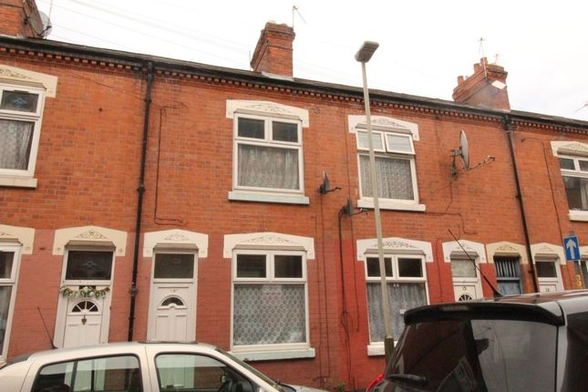 Thumbnail Terraced house to rent in Law Street, Leicester