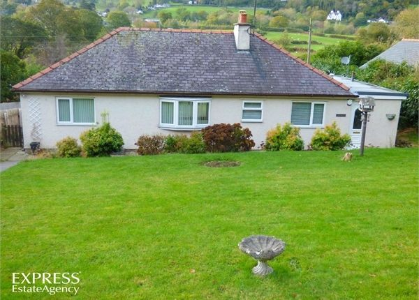 Thumbnail Detached bungalow for sale in Rowen, Conwy