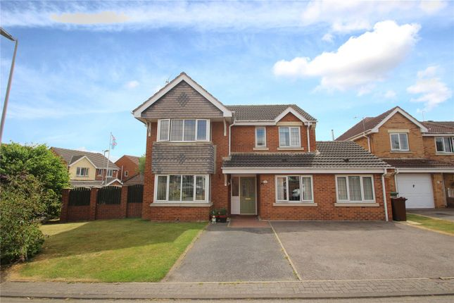 Thumbnail Detached house for sale in Pendragon Place, South Elmsall