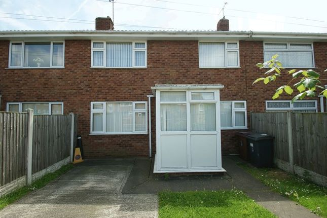 Thumbnail Terraced house to rent in Hereward Close, Shirebrook, Mansfield