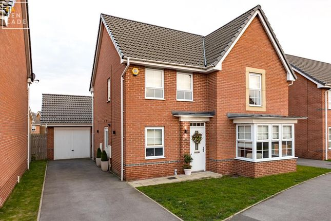 Thumbnail Detached house for sale in Redshank Drive, Scunthorpe