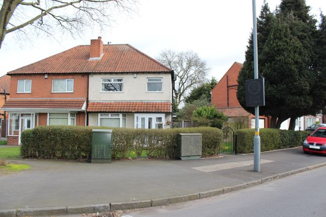 Thumbnail Semi-detached house for sale in School Road, Hall Green, Birmingham