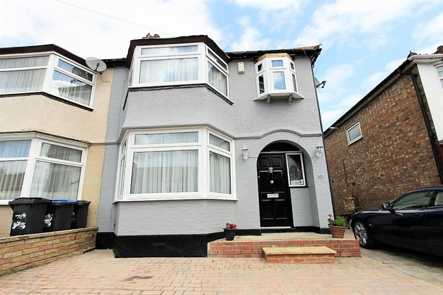 Thumbnail Semi-detached house for sale in Galliard Road, London