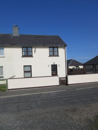 Thumbnail Semi-detached house for sale in Bualadubh, Isle Of South Uist
