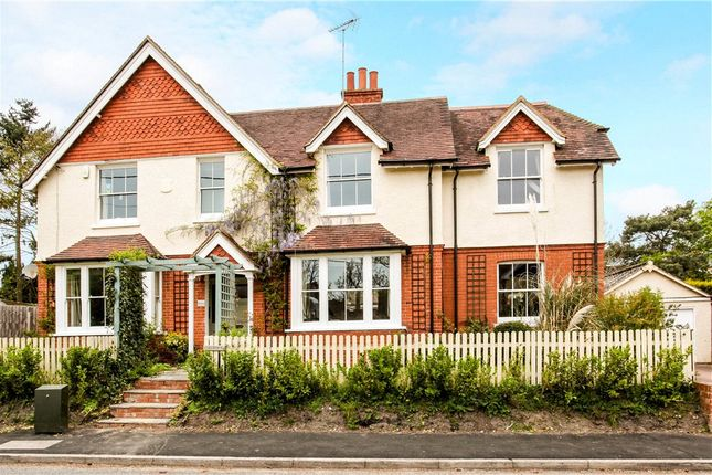Thumbnail Detached house for sale in Mill Lane, Yateley, Hampshire