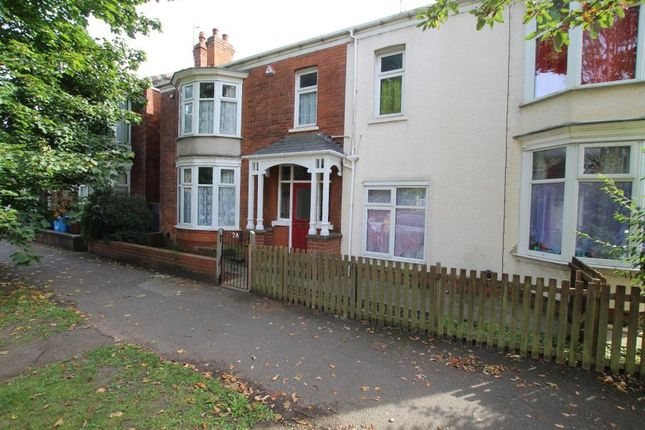 Thumbnail Semi-detached house to rent in Wellesley Avenue, Beverley Road, Hull