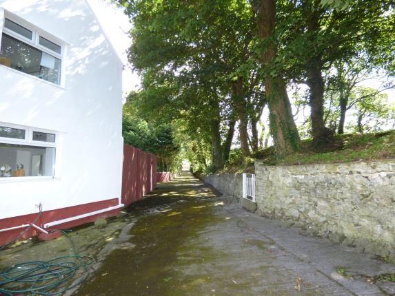 Rear Driveway of Pentrefelin, Amlwch, Sir Ynys Mon LL68